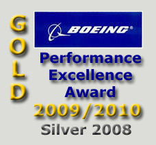 A&V Engineering received 2009 and 2010 Boeing Gold Performance Excellence Awards, an award issued annually by The Boeing Company to recognize suppliers who have achieved superior performance. We received the Silver Award in 2008.